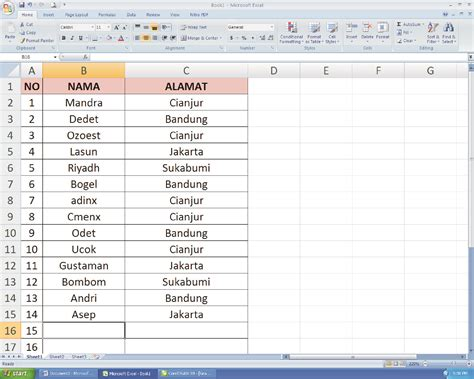 tutorial membuat template label undangan di word 2007 membuat nama undangan di ms word cara membuat label