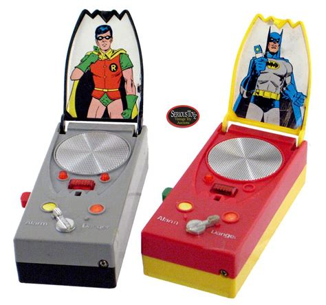 Diskon Walkie Talkie Batman Superman 1976 mego batman robin bat coders walkie talkies