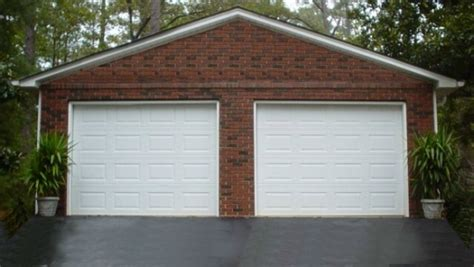 brick garage plans saunders construction garages