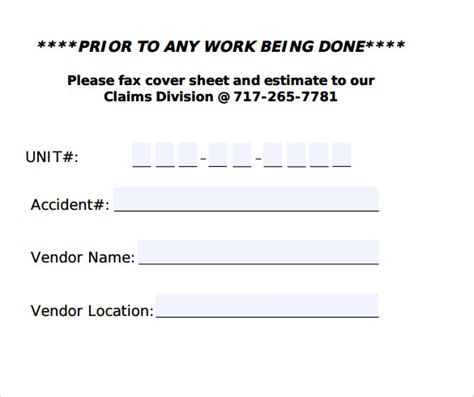 how to create your own fax cover sheet
