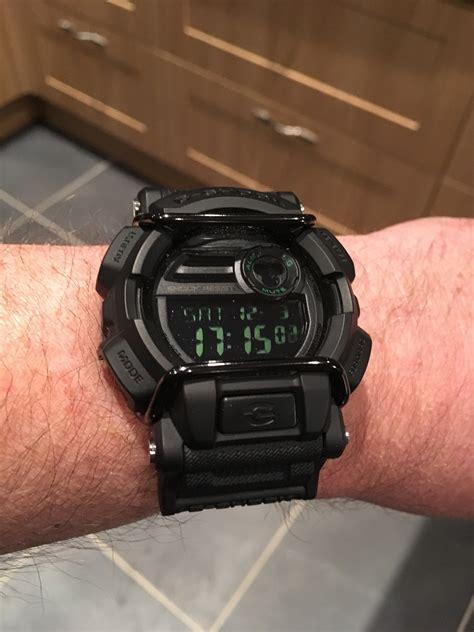 Gshock Gd 400 9d Gd400 9d 1 s casio g shock black alarm chronograph