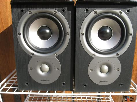 2 polk audio tsi100 bookshelf speakers photo 656639 us