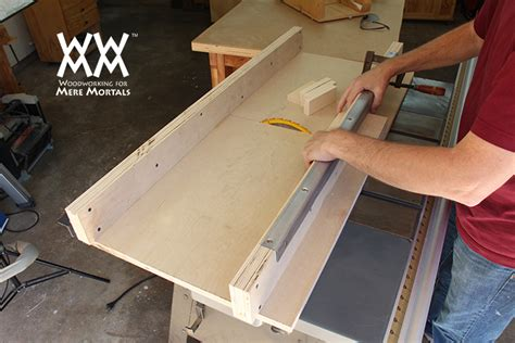 how to build a sled for table saw how to make a crosscut sled woodworking for mere mortals