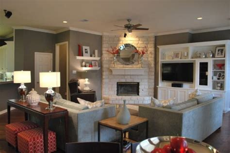 Arranging Living Room by Arranging Living Room Furniture With Corner Fireplace And