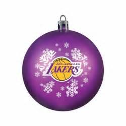 los angeles lakers ornament shatterproof ball