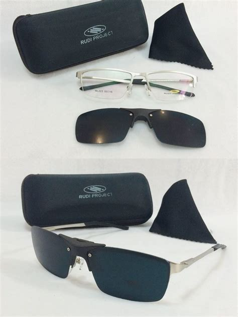 Kacamata Clip On Valentino Rudy frame kacamata rudy project clip on snur polarized silver