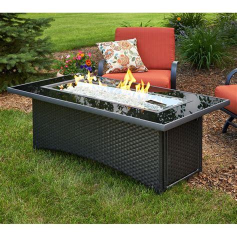 best propane pit tables rectangular propane pit table goenoeng