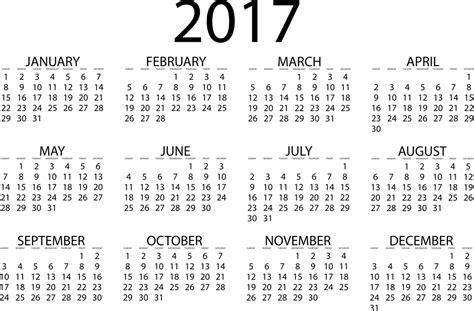 Calendar 2017   2016 Blank Calendar   calendar en   WWW