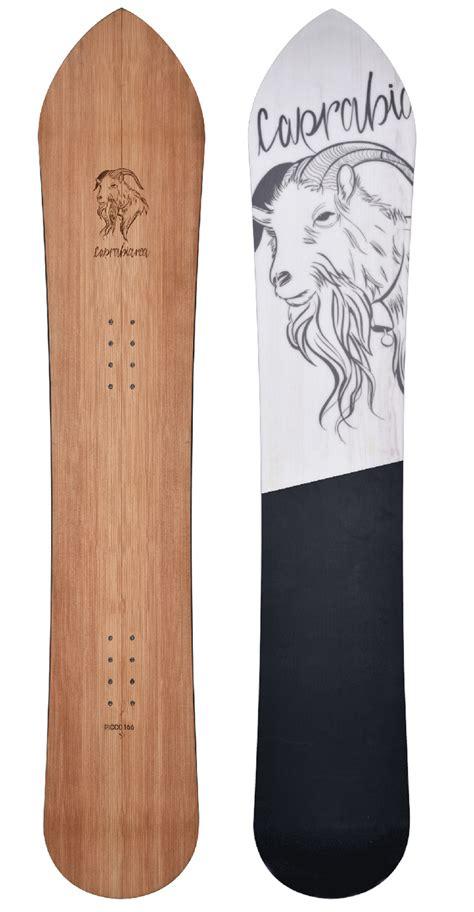 tavole freeride picco snowboard freeride made in italy caprabianca