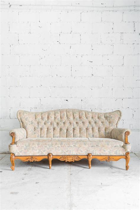 white vintage couch white vintage sofa bed stock photo image 53704077