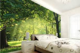 living room scenic wall murals ideas style fashionista forest hillside living room wallpaper mural photo
