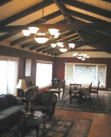 exposed beam ceiling exposed beam ceiling interiors living spaces pinterest