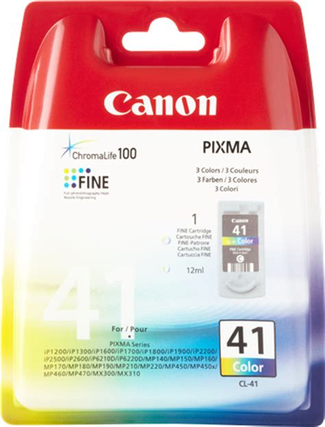 Tinta Canon Pixma 41 Colour canon cl 41 cartucho de tinta color prindo es