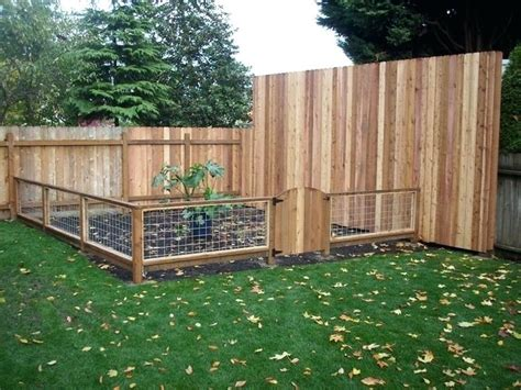 Small Fence Ideas Outdoor Vegetable Garden Planting Small Garden Fencing Ideas
