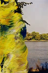 Artistic Home Decor Artistic Odyssey Overpainted Photographs By Gerhard Richter