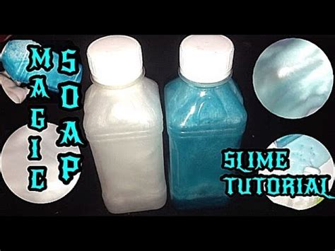 cara membuat slime ria yaya ria magic soap tutorial slime cara membuat magic soap untuk