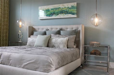 valspar woodlawn silver brook contemporary bedroom by abode interiors bedrooms pinterest