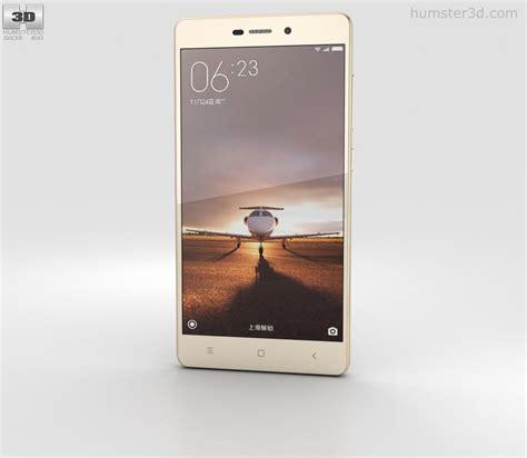 3d Xiaomi Redmi 3 xiaomi redmi 3 gold 3d model humster3d