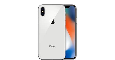 iphone x 64 go argent apple fr