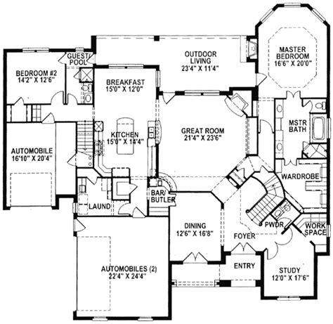 dual staircase house plans homes plans with duel staircase design joy studio design gallery best design