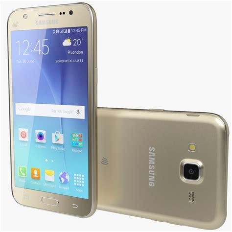 Samsung J5 Model J500g 3d realistic samsung galaxy j5 model