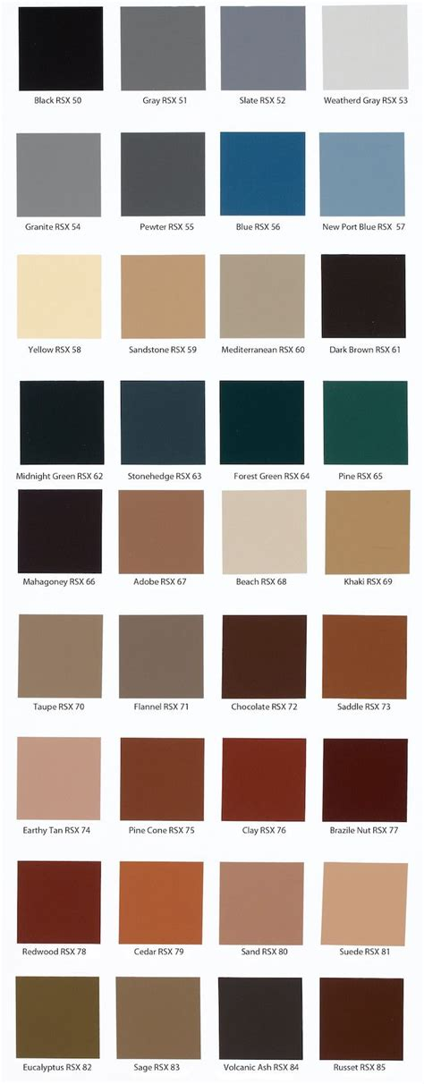 behr solid concrete stain color chart pinteres
