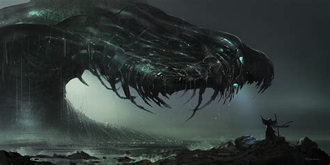 film giant monster in the sea sea monsters take the hand