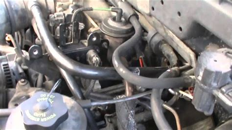 install upper intake 01ford van e150 egr valve cleaning ford focus youtube