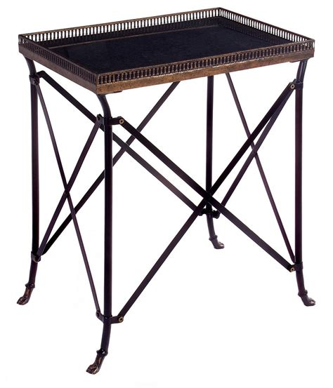 Black Accent Table Imax Rectangular Black Accent Table Im 12003 At Homelement