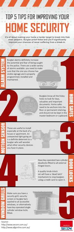 1000 images about home security infographics on