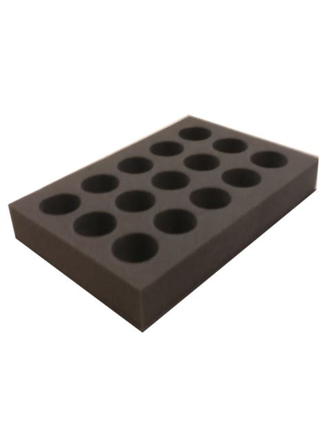 Cake Cases 60mm Base 25mm Bunga 40mm circles foam tray select your depth