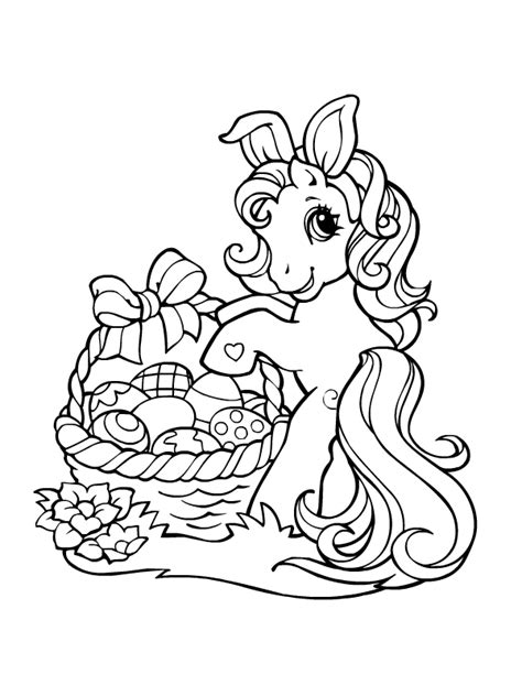 Petit Poney #259 (Dessins Animés) – Coloriages à imprimer