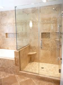 Travertine Bathroom Designs Travertine Shower Home Design Ideas Pictures Remodel And