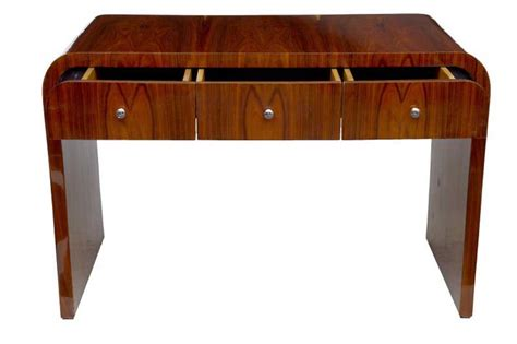 deco style writing desk deco desk writing table bureau vintage furniture
