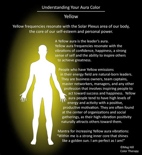 Aura Colors Yellow | understanding your aura color yellow spirituality and