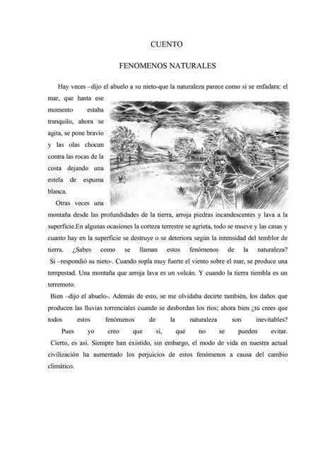 Calaméo - CUENTO DE FENOMENOS NATURALES