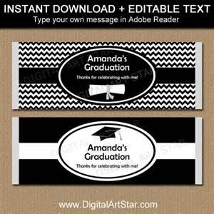 Free Printable Graduation Bar Wrappers Templates by Graduation Chocolate Bar Wrappers Editable Printable