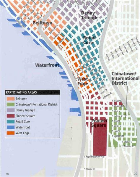 seattle map satellite seattle neighborhoods map seattle mappery