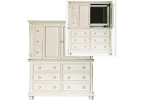 cottage cove white media armoire betterimprovement