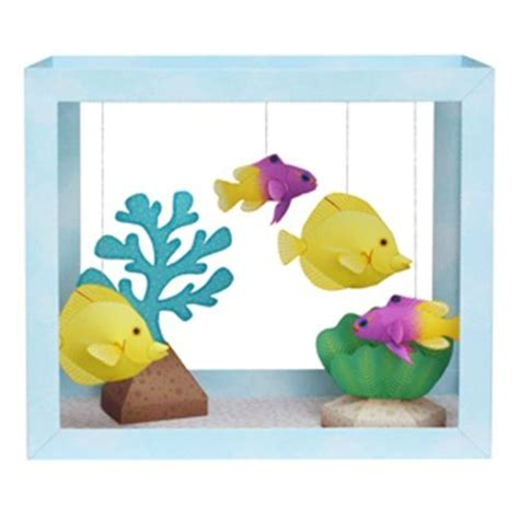 How To Make A Paper Aquarium - ideas fant 225 sticas para hacer manualidades con ni 241 os 1