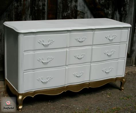 gold dresser how to gold dip furniture tuesday s treasures funcycled