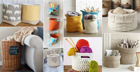 cute  practical storage baskets   organize