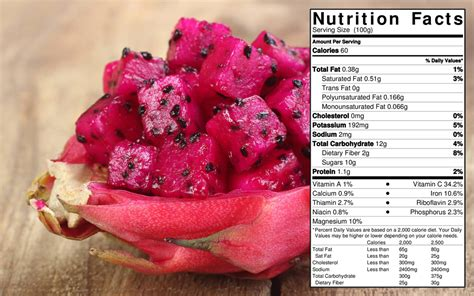fruit 60 calories fruit pitaya food facts home of the 80 10