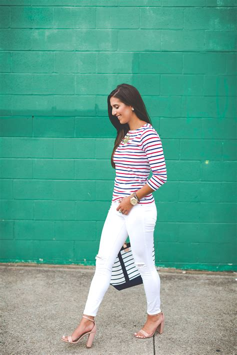 striped boatneck tee stripe boatneck tee a southern drawl