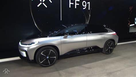 F F S faraday future debuts the ff 91 378 range via 130