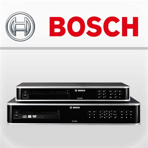 bosch divar bosch security systems open source software