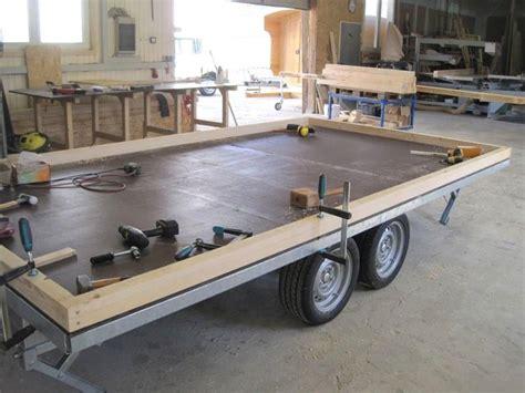 bauwagen fahrgestell zirkuswagen anh 228 nger 4 meter fahrgestell tinis