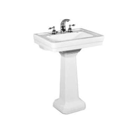 St Creations Pedestal Sink st creations richmond 24 25 in pedestal sink basin in white 5125 082 01 the