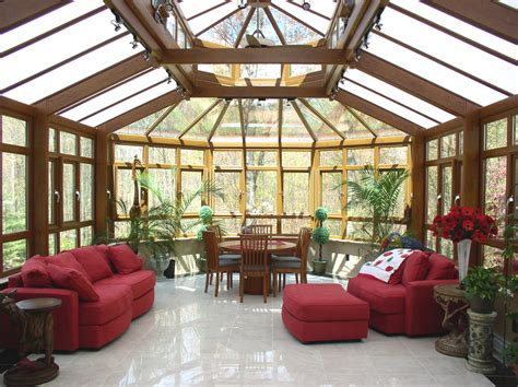 Wooden Sun Room Home Decoreting
