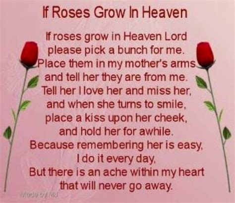 Quotes For S Day In Heaven Missing In Heaven Poems Quotes From